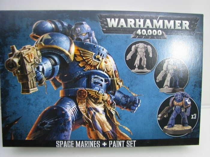 Warhammer 40,000 Space Marines + Pain Set